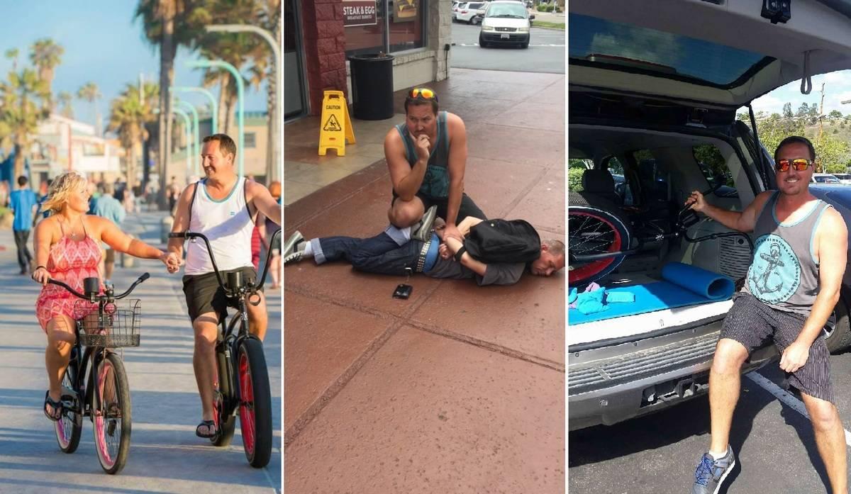 After proposal, man's bike is stolen and he makes a citizen's arrest