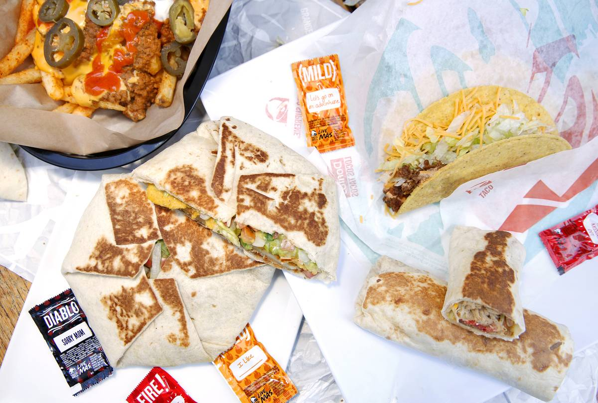 Taco Bell International Menu Tasting