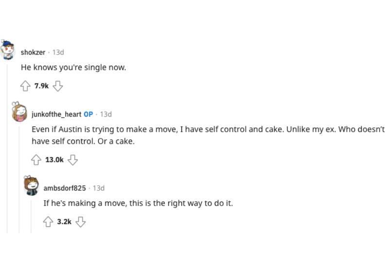 Reddit comments section
